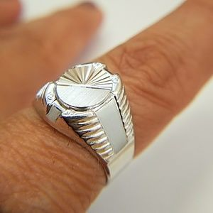 Men's Ring 15mm size 7 8 9 10 11 12 13